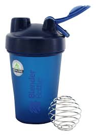 Navy Blender Bottle 20 oz