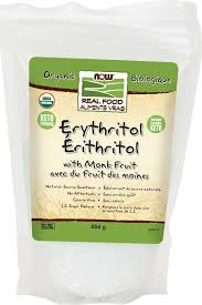 Now Erythritol with Monk Fruit 454 g