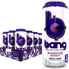 Bang Energy Drink Bangster Berry 12 cans per case