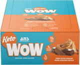 Ans Keto Wow Peanut Butter Chocolate bars 12 per box of 40 g bars