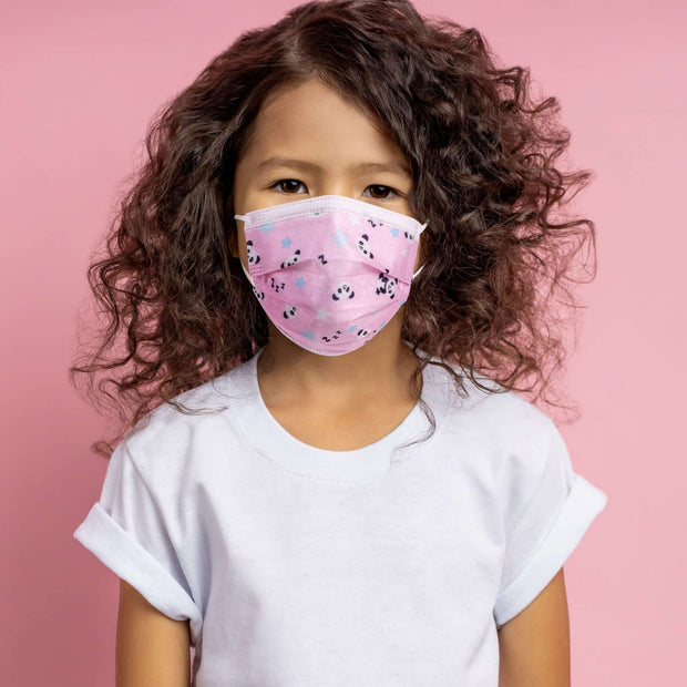 Kids 3PLY Face Mask - Pink