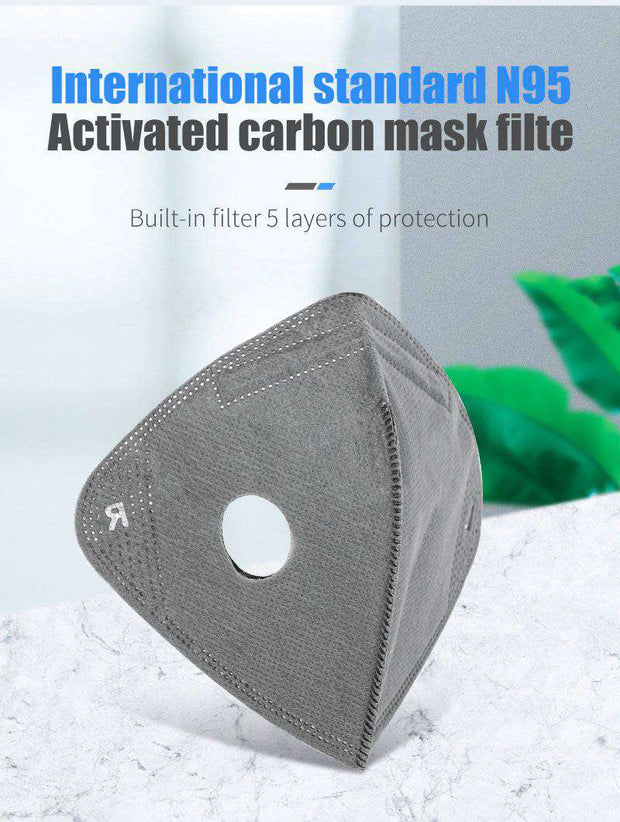 N95 Cationic Face Mask Filters