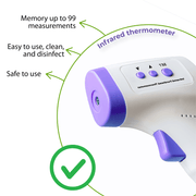NON-CONTACT INFRARED BODY THERMOMETER