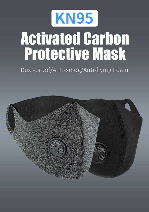 Cationic Space X Sports Mask with Premium Filter - Gray