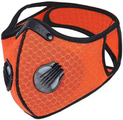 Mesh PRIMO Sports Face Mask with Premium Filter - Red