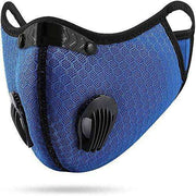 Mesh PRIMO Sports Face Mask with Premium Filter - Navy