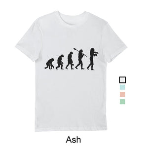 Men's Evolution T-Shirt Black print