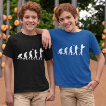 Load image into Gallery viewer, Boys Evolution T-Shirt White print