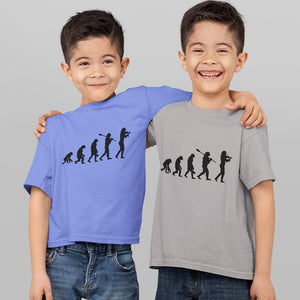 Boys Evolution T-Shirt Black print