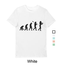 Load image into Gallery viewer, Men's Evolution T-Shirt Black print