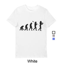 Load image into Gallery viewer, Boys Evolution T-Shirt Black print