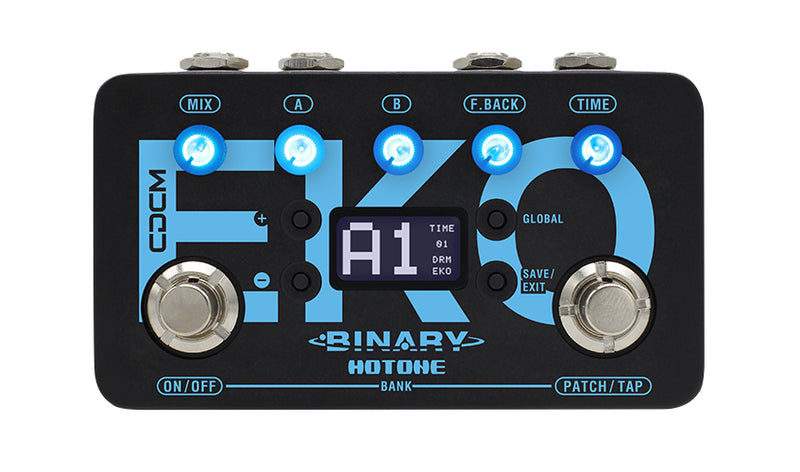 Hotone Binary Eko Delay Pedal
