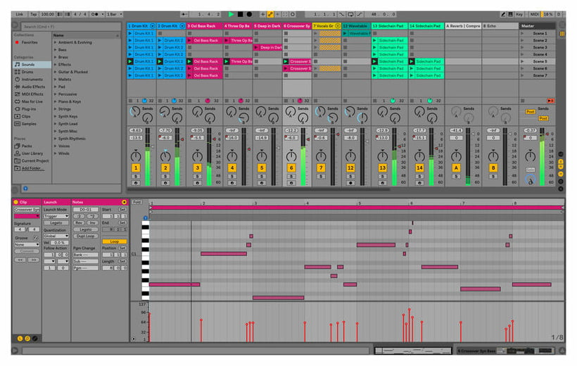 Ableton Live 10 Suite - Upgrade from Live 1-9 Standard (download)