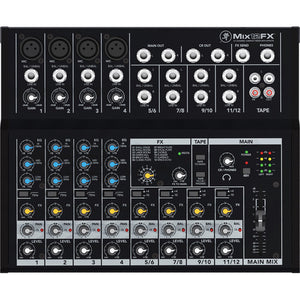 Mackie Mix12FX - 12-Channel Compact Mixer with Effects