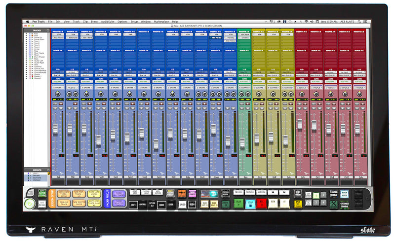 Slate Media Technology RAVEN MTi2, Multi-Touch Production Console