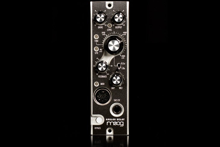 Moog Analog Delay - a 500 Series BBD Delay for professional use