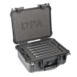 DPA d:mension™ Surround Kit with 5 x 4006A, Clips, Windscreens in Peli Case