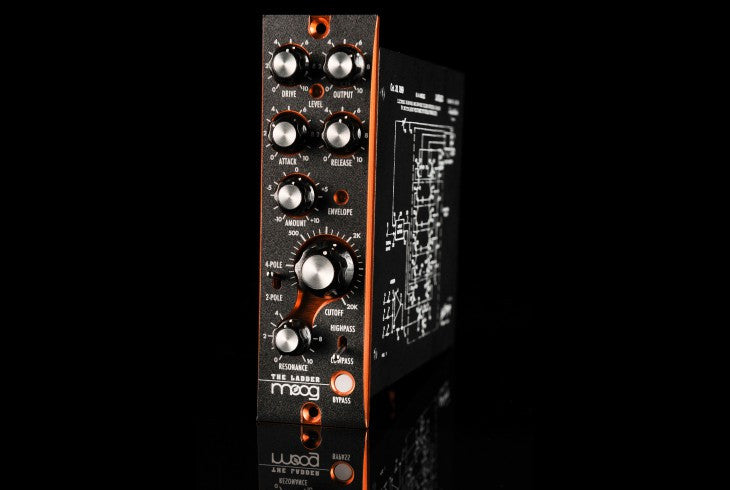 Moog The Ladder - a 500 Series Moog Ladder filter for professional audio use
