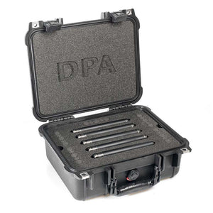 DPA d:mension™ Surround Kit with 5 x 4015A, Clips, Windscreens in Peli Case