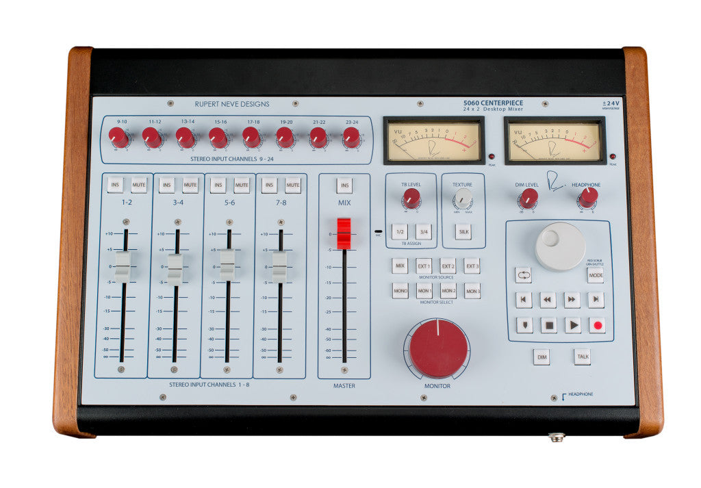 Rupert Neve Designs 5060 Centerpiece 24x2 Desktop Mixer