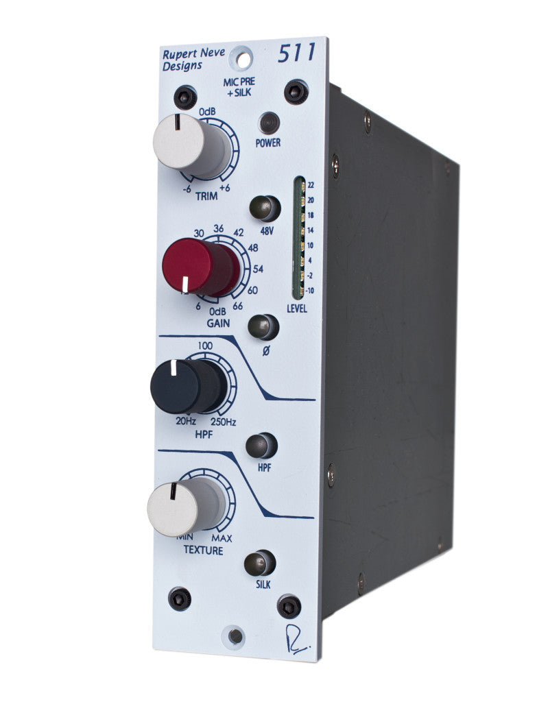 Rupert Neve Designs 511 Mic Pre with Sweepable HPF, Variable Silk