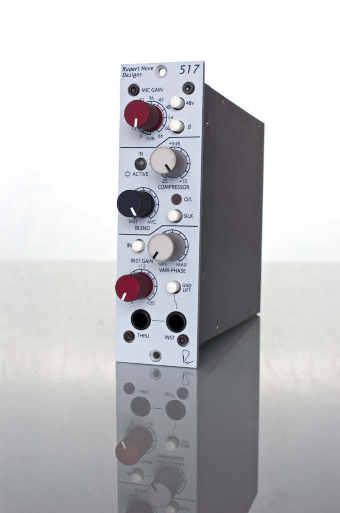 Rupert Neve Designs 517 Mic Pre / DI / Compressor with Vari-phase