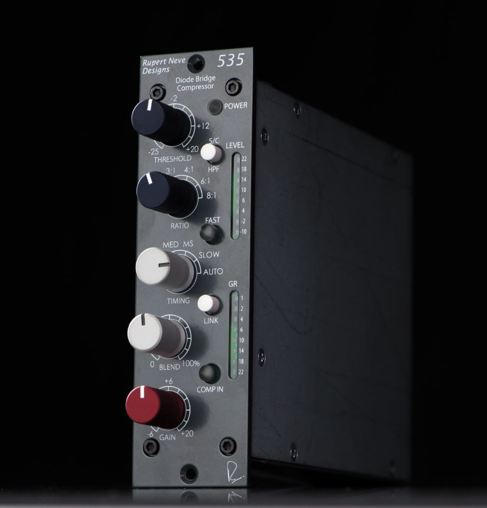 Rupert Neve Designs 535 Diode Bridge Compressor Tot All Audio Electric Guitar Pre Amplifier With Noise Gate And Compression Circuit