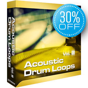PreSonus Acoustic Drum Loops vol. 2 - Stereo