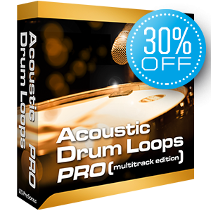 PreSonus Acoustic Drum Loops - Multitrack