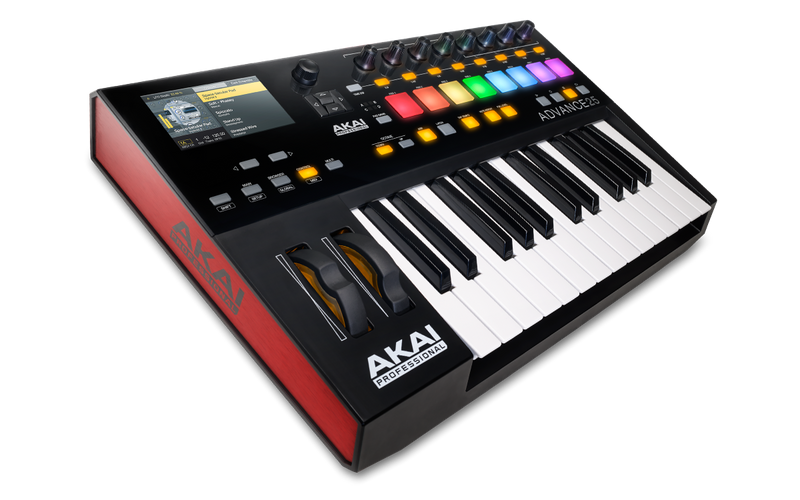 Akai ADVANCE 25 Virtual Instrument Production Controller