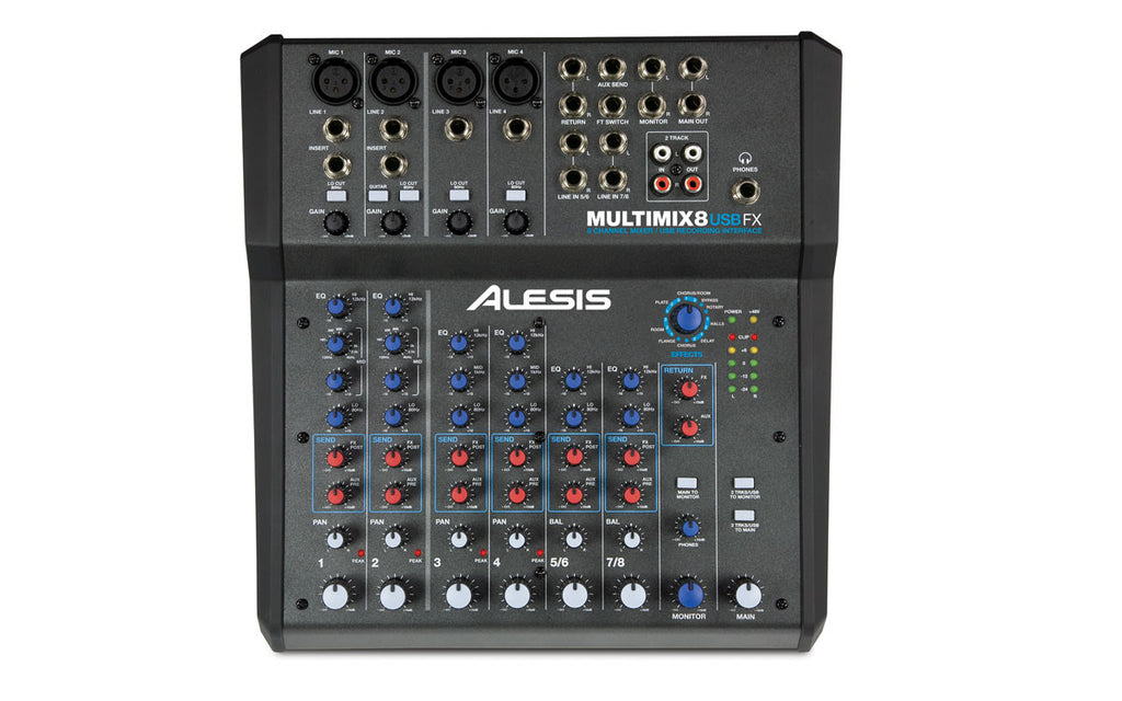 Alesis MultiMix 8 USB FX