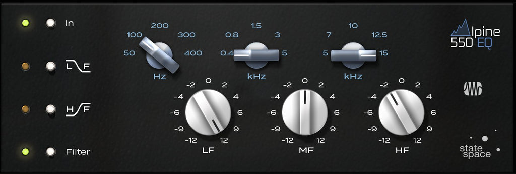 PreSonus Alpine EQ-550 Fat Channel Plug-in