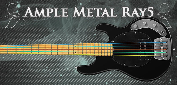 Ample Sound Ample Bass Metal Ray5 - AMR