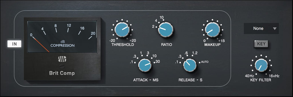 PreSonus Brit Comp Fat Channel Plug-in