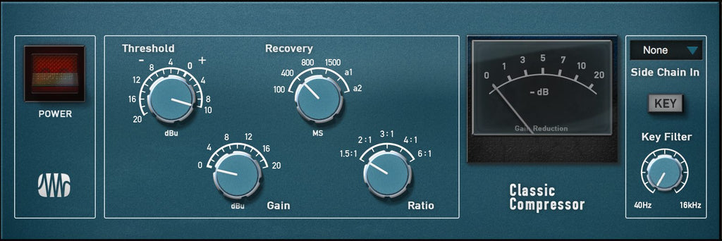 PreSonus Classic Compressor Fat Channel Plug-in