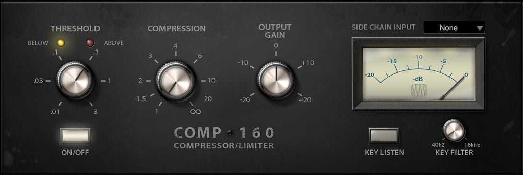 PreSonus Comp 160 Compressor Fat Channel Plug-in
