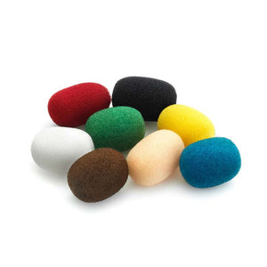 DPA Miniature Foam Windscreen, Color Mix, 8 pcs