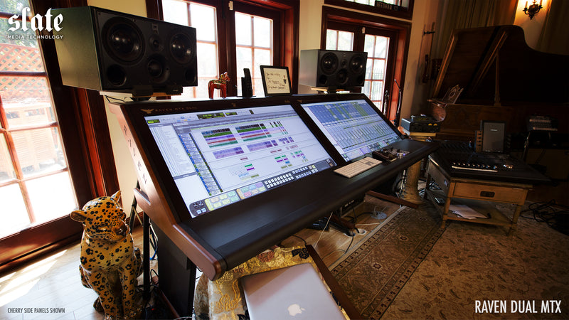 Slate Media Technology RAVEN DUAL RAVEN MTX (Includes Stereo Slate Control) , Multi-Touch Production Console