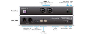 Apogee Element 24 - 10x12 Thunderbolt Audio Interface for Mac