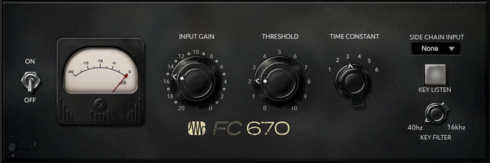 FC-670 Compressor - Fat Channel Plug-in