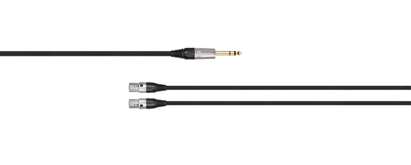 "Audeze LCD series standard braided cable 1/4"" plug"