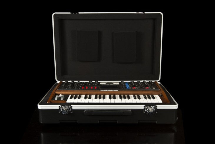 Moog Molded ATA Road Case w/ handle, wheels & Moog logo