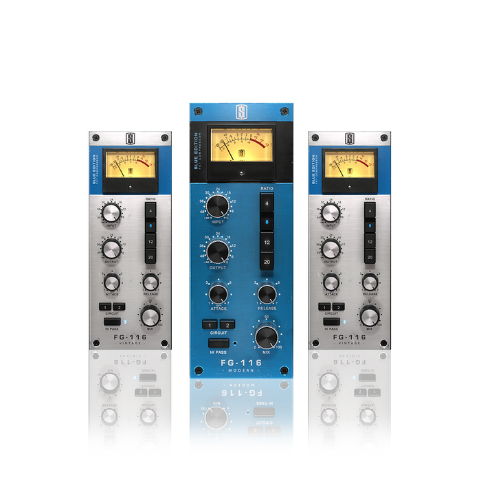 Slate Digital VFG-116 BLUE SERIES FET COMPRESSORS