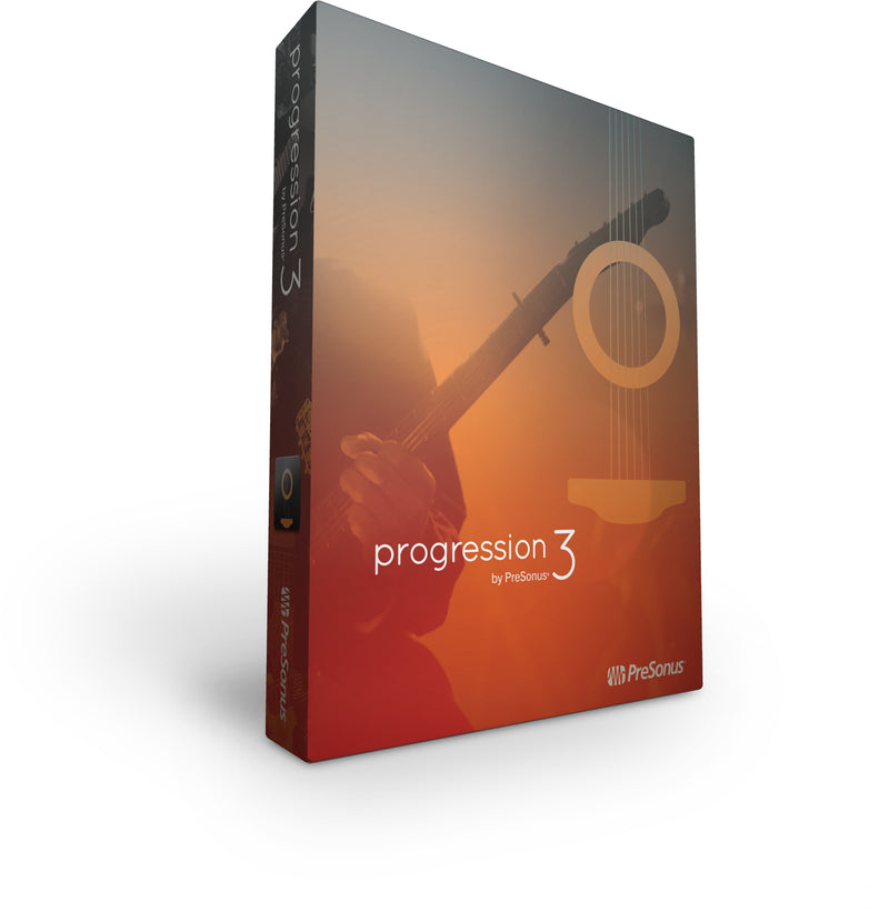 PreSonus Progression 3 Electronic Licence Only