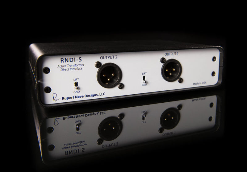 Rupert Neve Designs RNDI-S Stereo Active Transformer Direct Box