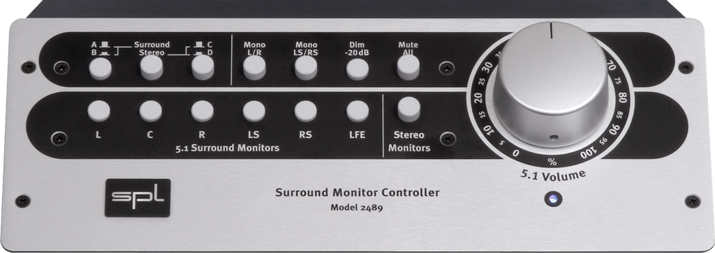 SPL Stereo- and 5.1-Surround Monitor Controller