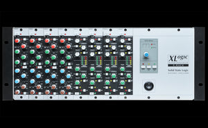 Solid State Logic X-Rack with 8 Dynamics Modules