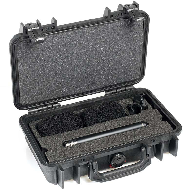 DPA d:dicate™ 4011A Stereo Pair with Clips and Windscreens in Peli Case