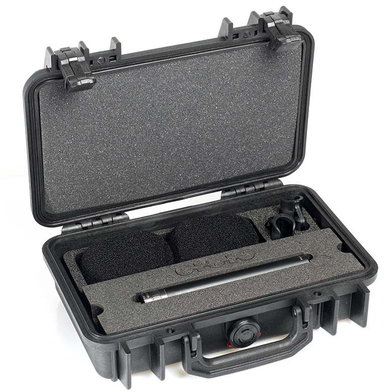 DPA d:dicate™ 4015A Stereo Pair with Clips and Windscreens in Peli Case
