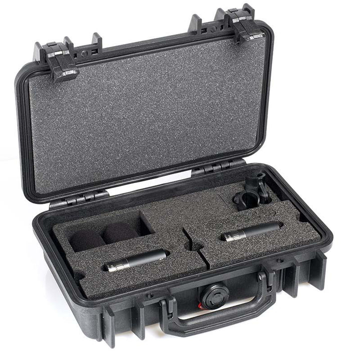 DPA d:dicate™ 4015C Stereo Pair with Clips and Windscreens in Peli Case